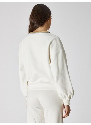 Vekem-Limited Edition Sweatshirt Beyaz